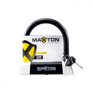 ANTIVOL U MAXTON 120X125 CLASSE SRA FABRICATION CEE ÉQUIPEMENTS sur le site du spécialiste des deux roues O-TAKET.COM