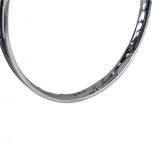 JANTE/CERCLAGE CYCLO 19'' FS38 1.20X19 - 36 TROUS CHROME CYCLO/SOLEX sur le site du spécialiste des deux roues O-TAKET.COM