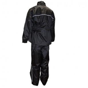 VESTE + PANTALON PLUIE TRENDY NOIR (ENSEMBLE 2 PIECES) TAILLE L Vêtements pluie sur le site du spécialiste des deux roues O-T...