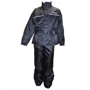 VESTE + PANTALON PLUIE TRENDY NOIR (ENSEMBLE 2 PIECES) TAILLE XL Vêtements pluie sur le site du spécialiste des deux roues O-...