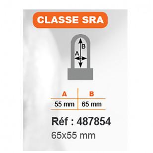 ANTIVOL U RANGERS  65X55 - CLASSE SRA (LIVRE AVEC CORDON DE RAPPEL)