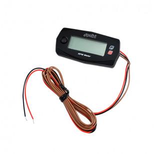 COMPTE TOURS POLINI ELECTRONIQUE DIGITAL LCD (15000TRS / MIN) - SANS SONDE LAMBDA - Compteur sur le site du spécialiste des d...