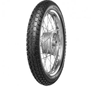 """PNEU CYCLO 19"""" 2 1/2 X 19 CONTINENTAL KKS10 REINF FLANC BLANC TT 45J Pneus Cyclo sur le site du spécialiste des deux roues O-..."""