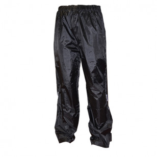 PANTALON PLUIE TRENDY NOIR XXL Vêtements pluie sur le site du spécialiste des deux roues O-TAKET.COM