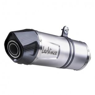 POT MAXI SCOOTER LEOVINCE LV ONE INOX ADAPT. 125 X-MAX / SKYCRUISER 2006→ / EVOLIS / X-CITY 2008→ Échappements sur le site du...