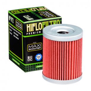 FILTRE A HUILE MAXI SCOOTER HIFLOFILTRO HF972 ADAPT. 250/400 BURGMAN /400 X-MAX 2013-2020 Filtres à huile sur le site du spéc...