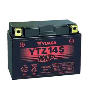 BATTERIE YTZ14S YUASA 12V11.8AH GEL SANS ENTRETIEN LG150 L87 H110 - ACTIVE USINE Batteries sur le site du spécialiste des deu...