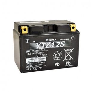 BATTERIE YTZ12S YUASA 12V11.6AH GEL SANS ENTRETIEN LG150 L87 H110 - ACTIVE USINE Batteries sur le site du spécialiste des deu...