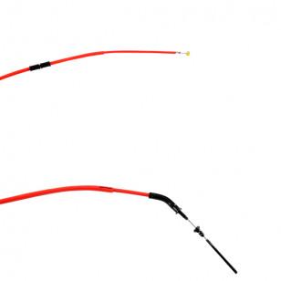 TRANSMISSION / CABLE FREIN SCOOTER DOPPLER TEFLON AR ADAPT. BOOSTER / BW'S 2004→ - ROUGE Câbles et Transmissions sur le site ...