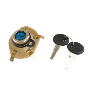 CONTACTEUR A CLE MAXI SCOOTER TEKNIX ADAPT. 125 VESPA ET3 / PX (160743) Contacteurs à clés sur le site du spécialiste des deu...