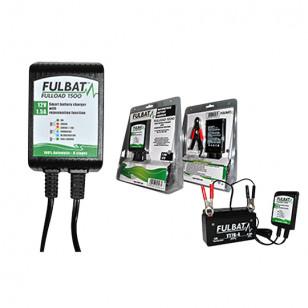 CHARGEUR BATTERIE FULBAT FULLOAD 1500 - 12V 1.5A (POUR BATTERIE DE 2 A 30 AH) Batteries sur le site du spécialiste des deux r...