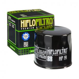 FILTRE A HUILE MAXI SCOOTER HIFLOFILTRO HF191 ADAPT. 400 PEUGEOT METROPOLIS / 955 SPEED TRIPLE Filtres à huile sur le site du...