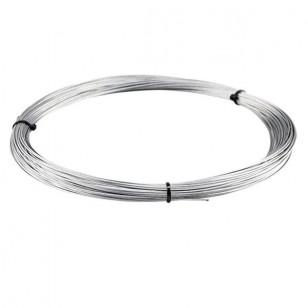 CABLE ACIER GALVA DIAMETRE 1.5MM (VENDU EN ROULEAU DE 50 METRES) POUR REFECTION CABLE GAZ Câbles et Transmissions sur le site...