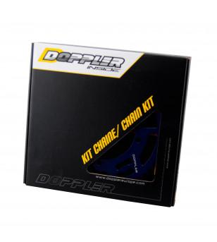 KIT CHAINE DOPPLER ALU ADAPT. SHERCO ENDURO / SM 428 13X53DTS D110 FIX 3X2 ALU BLEU Kits chaînes sur le site du spécialiste d...