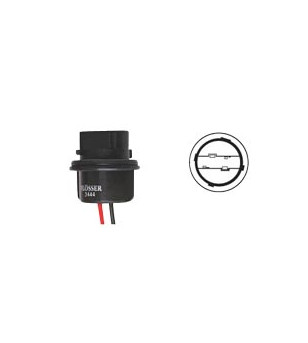 PORTE AMPOULE/LAMPE FLOSSER 12V W2.5X16D - AVEC CABLE CYCLO/SOLEX sur le site du spécialiste des deux roues O-TAKET.COM