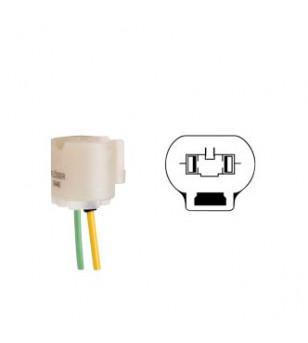 PORTE AMPOULE/LAMPE FLOSSER 12V HB4 - AVEC CABLE SCOOTER sur le site du spécialiste des deux roues O-TAKET.COM