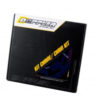 KIT CHAINE DOPPLER ALU ADAPT. MRT/XP6 00/XLIMIT 03-/XP7 CROSS/RS3 (13X53) - D105 BLEU