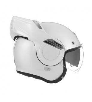 CASQUE INTEGRAL MODULABLE NOX STRATOS BLANC PERLE T61-62 XL