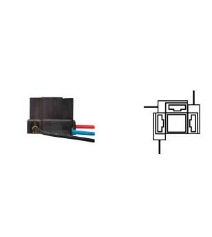 PORTE AMPOULE/LAMPE FLOSSER 12V H4 - AVEC CABLE SCOOTER sur le site du spécialiste des deux roues O-TAKET.COM