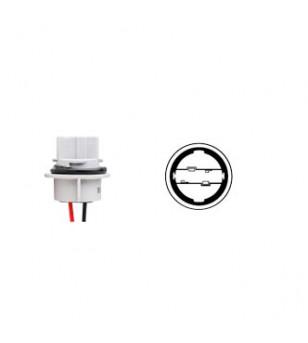 PORTE AMPOULE/LAMPE FLOSSER 12V W21W - AVEC CABLE SCOOTER sur le site du spécialiste des deux roues O-TAKET.COM