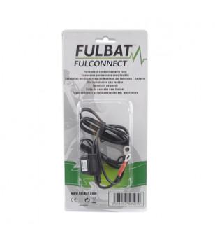 CABLE CHARGEUR BATTERIE FULBAT - CONNECTEUR/OEILLET