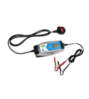 CHARGEUR BATTERIE INTELLIGENT RING 404 - 6V/12V 4A (POUR BATTERIE DE 2 A 140 AH) Batteries sur le site du spécialiste des deu...