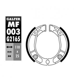 MACHOIRE FREIN 03 GALFER AR HONDA C B50 / NX125 / XL125 / XR125 / CFR150 / CRF2330 (110X25) Mâchoires sur le site du spéciali...