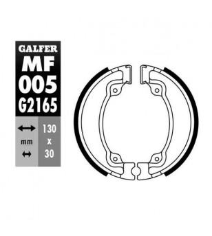 MACHOIRE FREIN 04 GALFER AR HONDA 125 REBEL / SHADOW (130X30) Mâchoires sur le site du spécialiste des deux roues O-TAKET.COM