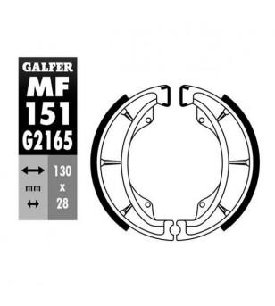 MACHOIRE FREIN 08 GALFER AR SUZUKI 125 DR / GN / TU / KAWASAKI 125 ELIMINATTOR (125X25) Mâchoires sur le site du spécialiste ...