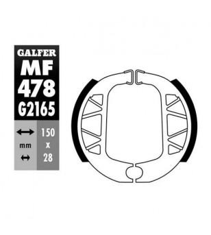 MACHOIRE FREIN 15 GALFER AR 125 YAMAHA BW'S /125 CYGNUS 2003→ (150X288) Mâchoires sur le site du spécialiste des deux roues O...