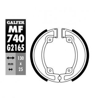 MACHOIRE FREIN 22 GALFER AR 50/125 KYMCO AGILITY / PEOPLE / MOVIE (130X25) Mâchoires sur le site du spécialiste des deux roue...