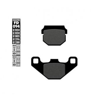 PLAQUETTE FREIN 25 GALFER G1050 ADAPT. AV SPEEDFIGHT / KISBEE / DRD RACIING / XTREME / AR RS4 PR Plaquettes sur le site du sp...