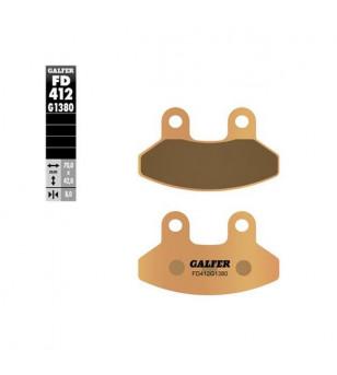 PLAQUETTE FREIN 40 GALFER G1380 ADAPT. AV 125 SYM JOY RIDE / SHARK / RIEJU 125 RS2 (PR) Plaquettes sur le site du spécialiste...