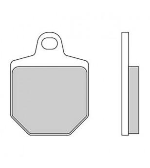 PLAQUETTE FREIN 173 GALFER G1054 AV 50/125/250/450 HM DERAPAGE/CRM/KTM 450/560 SMR (PR)
