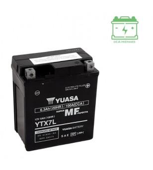 BATTERIE YTX7L YUASA 12V6AH SANS ENTRETIEN - AGM ACTIVE USINE Batteries sur le site du spécialiste des deux roues O-TAKET.COM