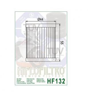 FILTRE A HUILE MAXI SCOOTER/MOTO HIFLOFILTRO HF132 ADAPT. 125 DR/ 400 XMAX/MAJESTY/BURGMAN