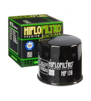 FILTRE A HUILE MAXI SCOOTER/MOTO HIFLOFILTRO HF138 ADAPT. 650 BURGMAN / GSR600 / GSX-R / SV650 Filtres à huile sur le site du...