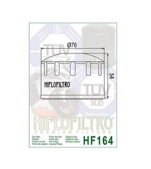 FILTRE A HUILE MAXI SCOOTER/MOTO HIFLOFILTRO HF164 ADAPT. BMW C600/C650/R1200