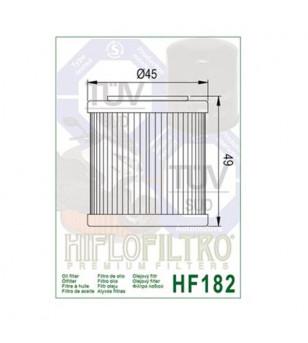 FILTRE A HUILE MAXI SCOOTER HIFLOFILTRO HF182 ADAPT. 350 PIAGGIO BEVERLY 11-17