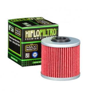 FILTRE A HUILE MAXI SCOOTER HIFLOFILTRO HF566 ADAPT. 125 KYMCO DOWNTOWN 2009→ / SUPERDINK Filtres à huile sur le site du spéc...