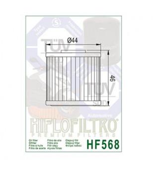 FILTRE A HUILE MAXI SCOOTER HIFLOFILTRO HF568 ADAPT. 400 XCITING 2012-