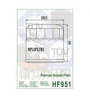 FILTRE A HUILE MAXI SCOOTER HIFLOFILTRO HF951 ADAPT. FORZA/530 T-MAX