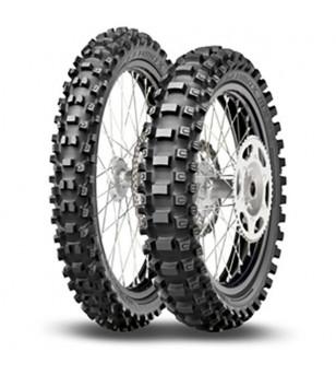 """PNEU MOTO 14"""" 90 / 100 X 14 DUNLOP GEOMAX MX33 TT 49M Pneus Moto sur le site du spécialiste des deux roues O-TAKET.COM"""