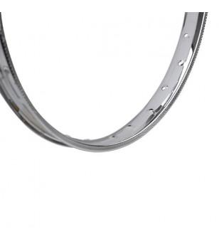 JANTE/CERCLAGE CYCLO 16'' FS38 1.20X16 - 28 TROUS CHROME