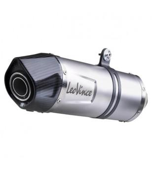 POT MAXI SCOOTER LEOVINCE LV ONE INOX ADAPT. 850 APRILIA SRV 2012→ / 800 GILERA GP 2008→ Échappements sur le site du spéciali...