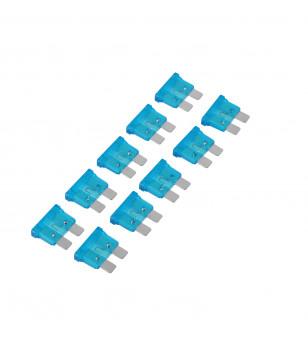 FUSIBLE 15 AMPERES PLAT ENFICHABLE GM (X10)