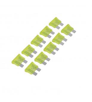 FUSIBLE 20 AMPERES PLAT ENFICHABLE GM (X10)