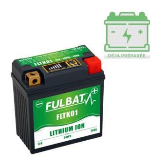 BATTERIE FLTK01 FULBAT 12V LITHIUM LG86 L48 H90 COMPATIBLE KTM SX-F 250/350/450