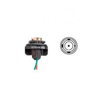 PORTE AMPOULE/LAMPE FLOSSER 12V BAU15S - AVEC CABLE SCOOTER sur le site du spécialiste des deux roues O-TAKET.COM