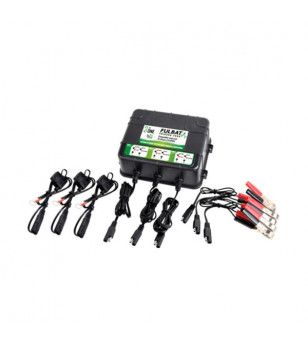 CHARGEUR BATTERIE FULBAT FULLBANK 2000 3 SORTIES - 12V 3X2A